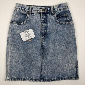 VTG Denim Jean Skirt